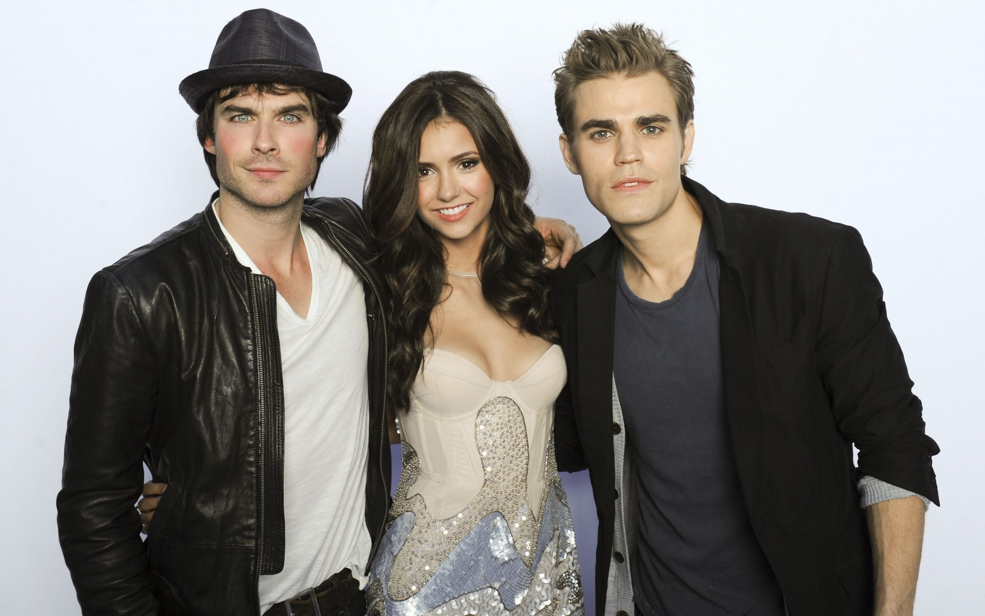 Ian Somerhalder Nina Dobrev Paul Wesley - Wallpaper, High ...