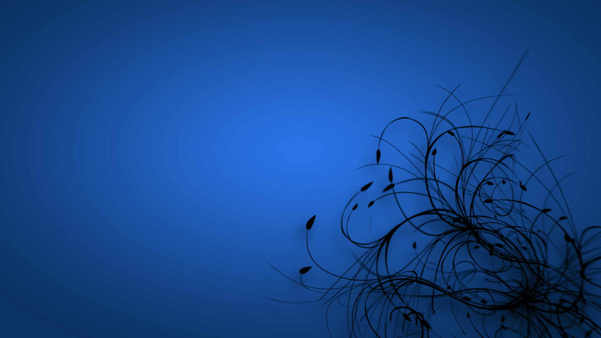 Blue Color Desktop Background