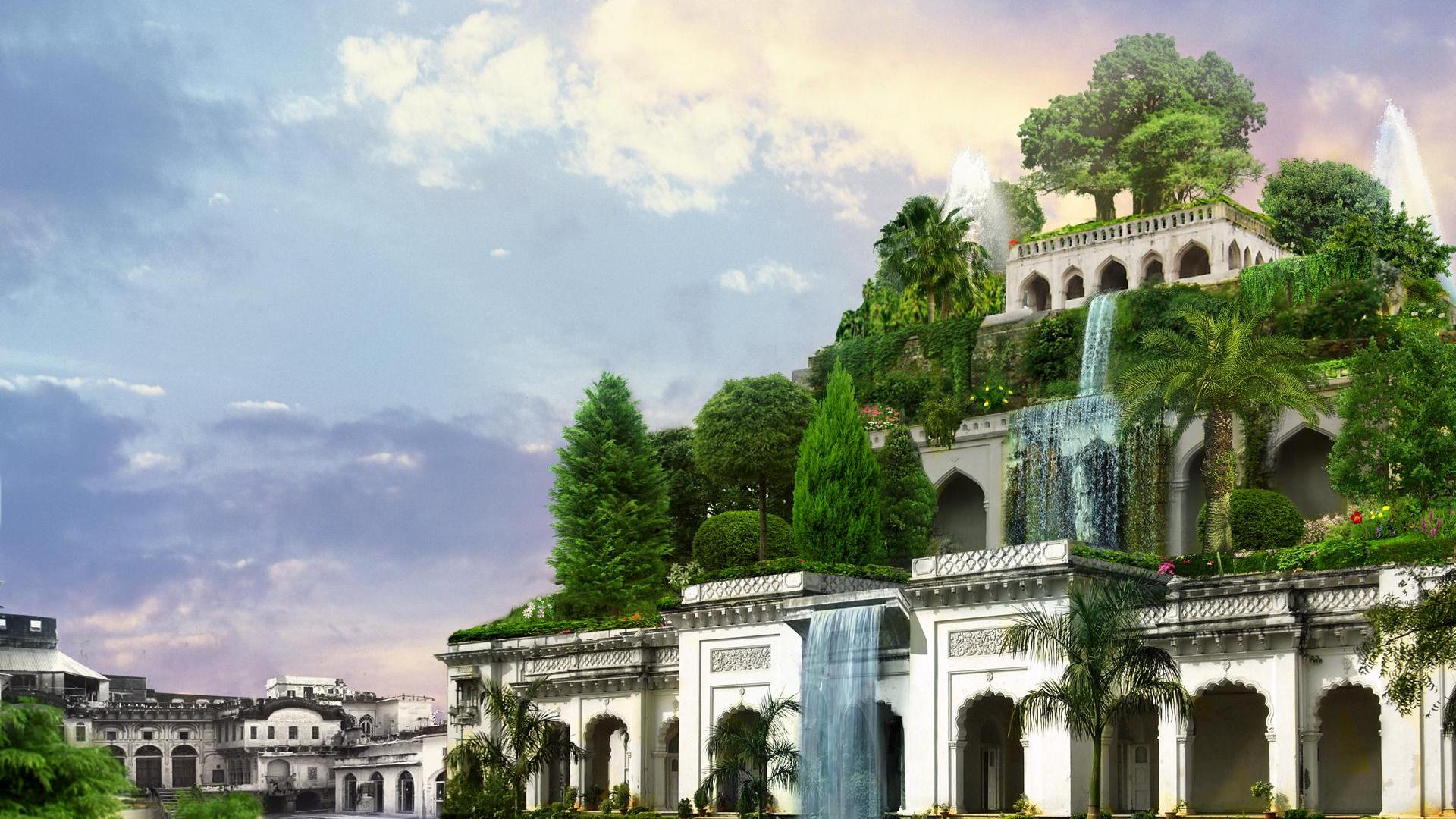 Hanging Gardens Of Babylon Wallpaper High Definition High Quality Widescreen