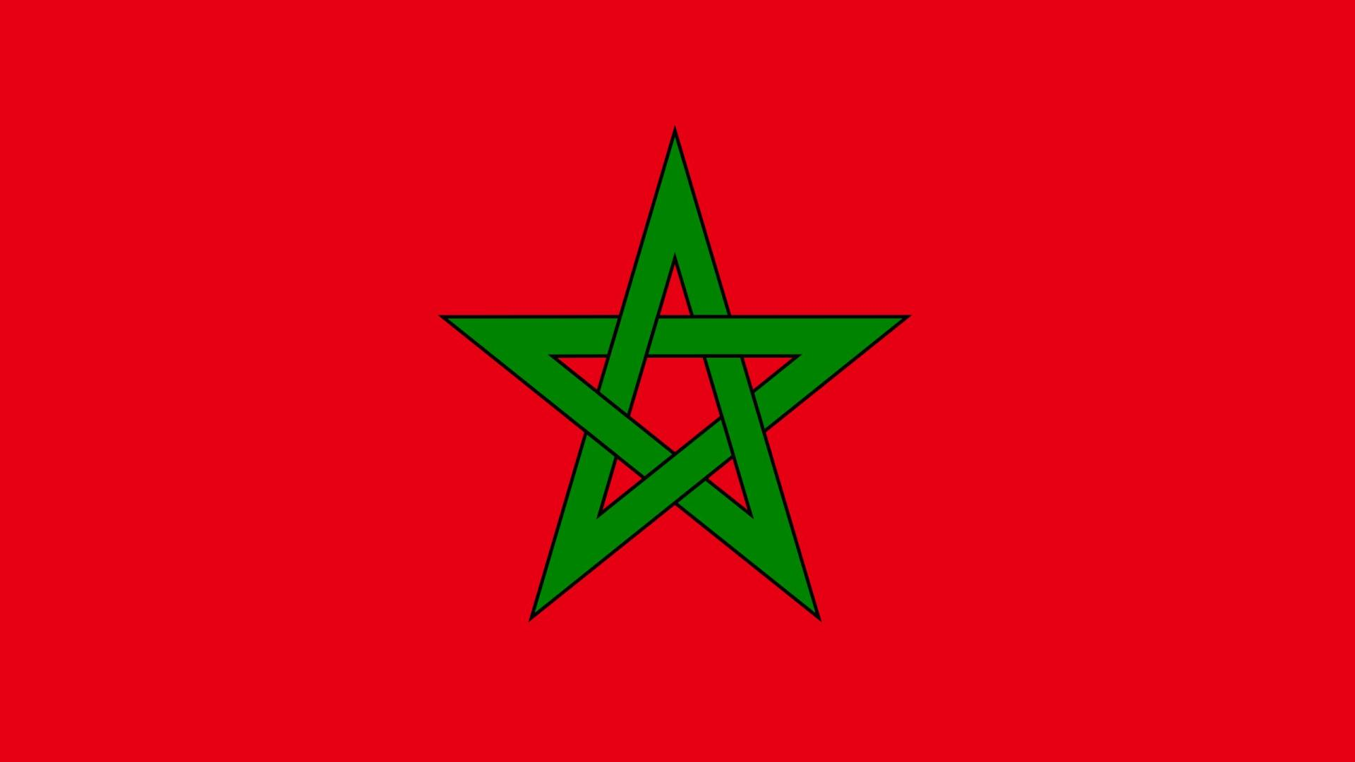 morocco flag   wallpaper high definition high quality