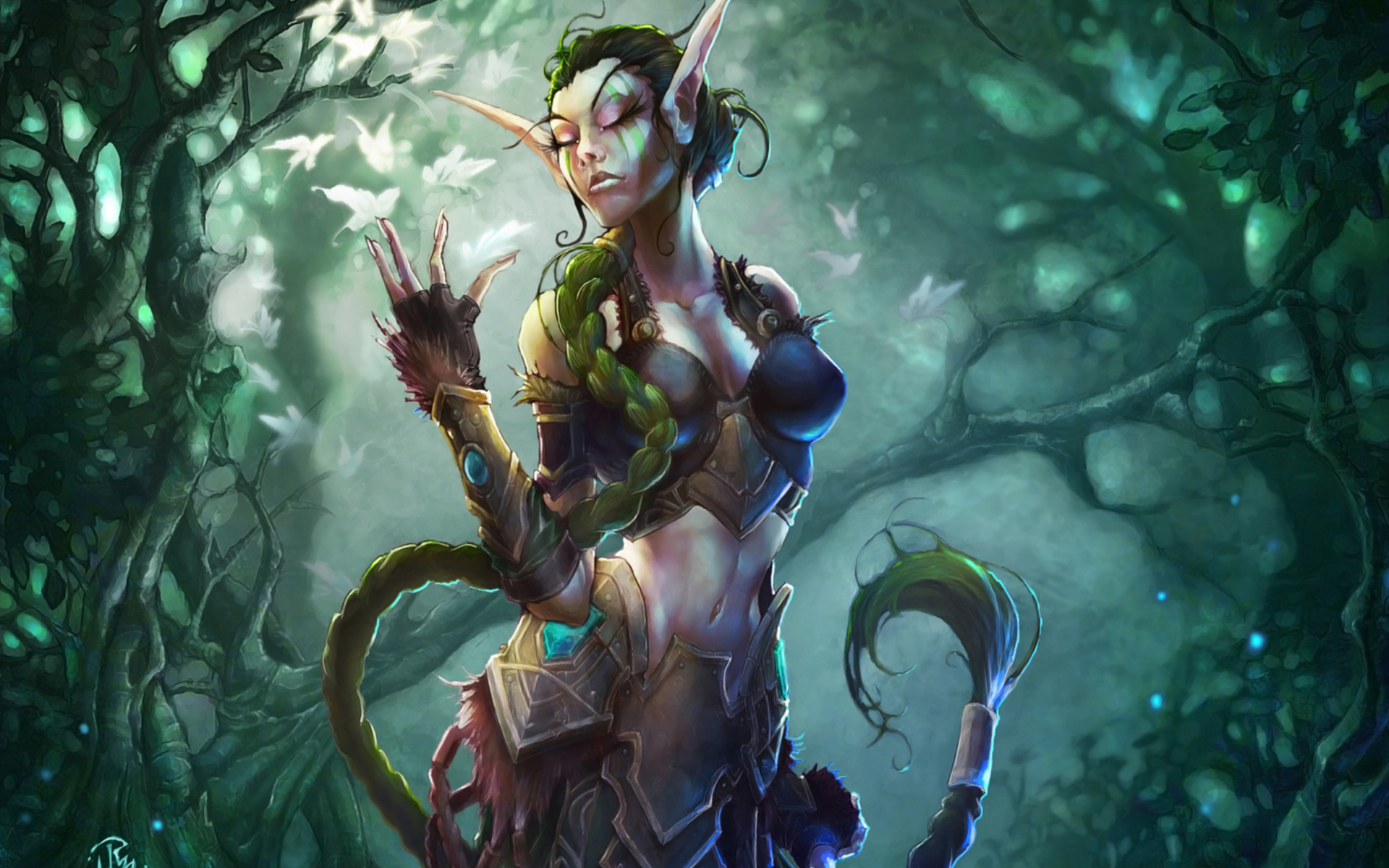 Captured elfin princess forest orc nude photo
