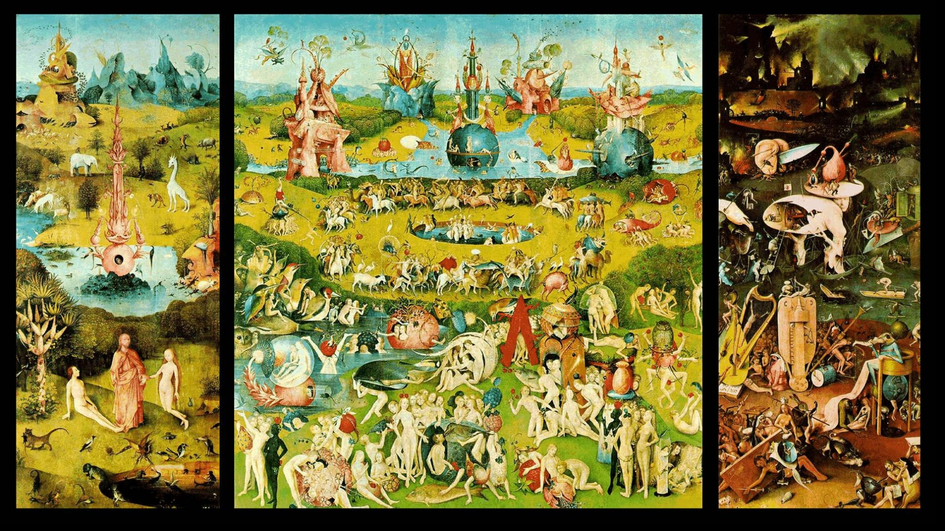 The Garden of Earthly Delights , Wallpaper, High Definition
