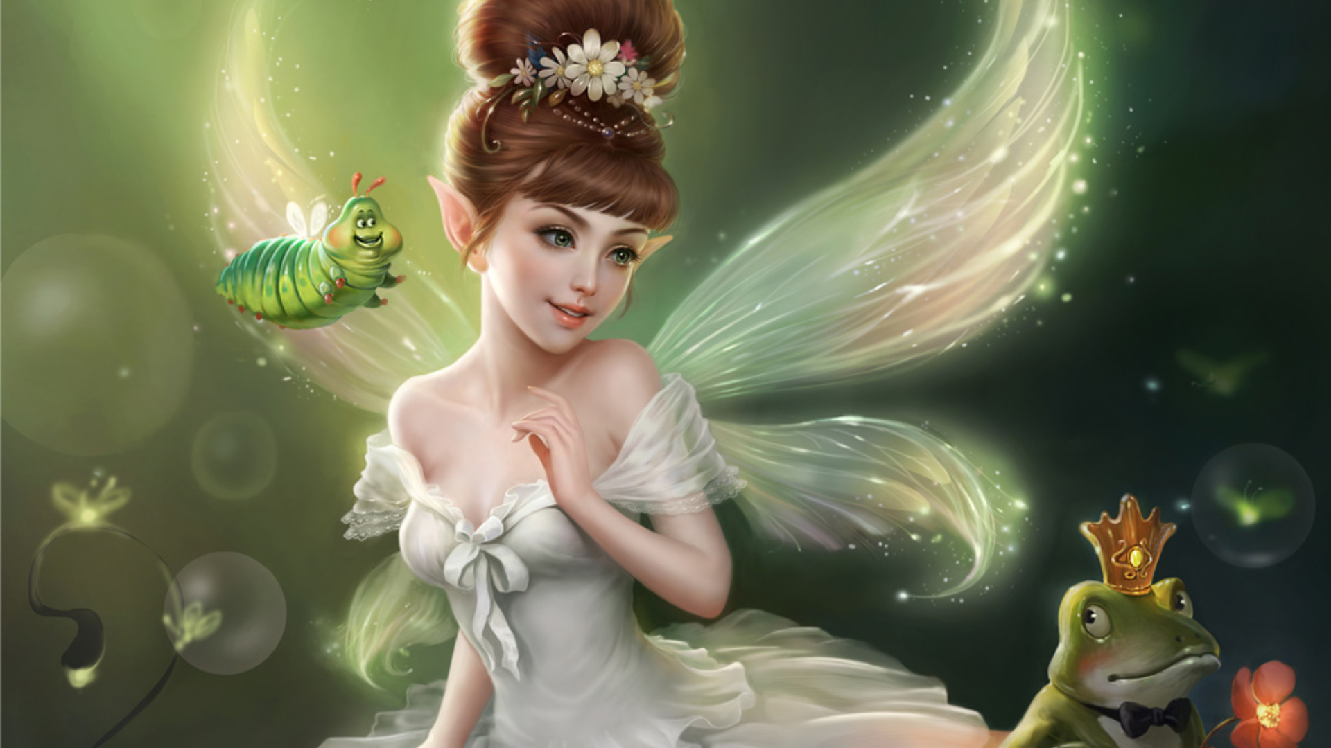 Fairy wallpaper high definition high quality widescreen - 3d fantasy wallpaper ...