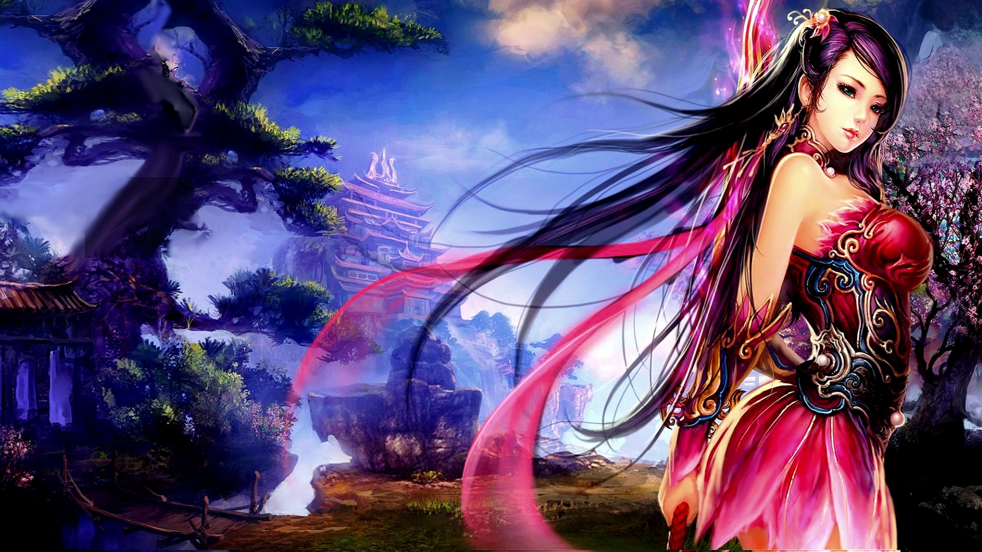 Fantasy girl 1920x1080 wallpaper high definition high quality fantasy girl 1920x1080 voltagebd Gallery