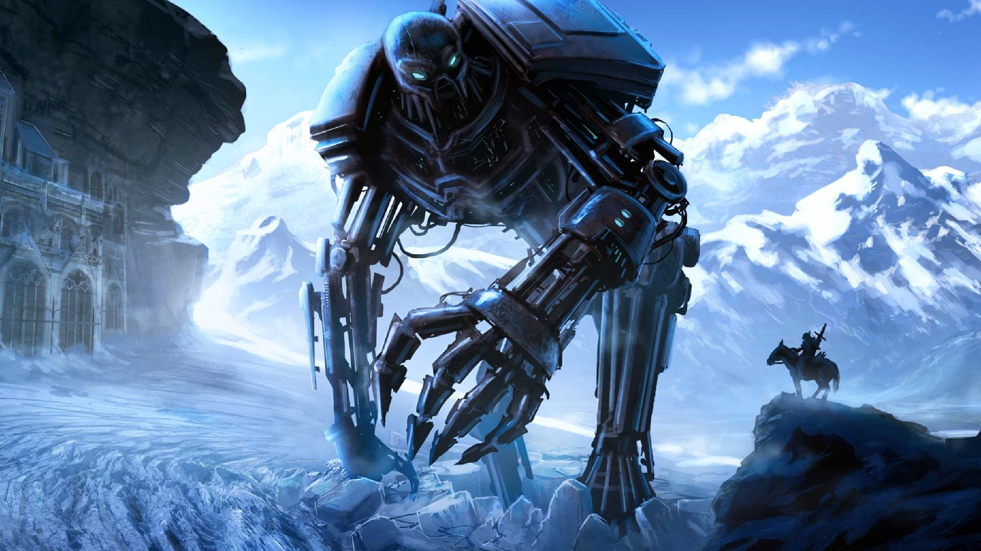Robot High Definition Wallpaper - Wallpaper, High ...
