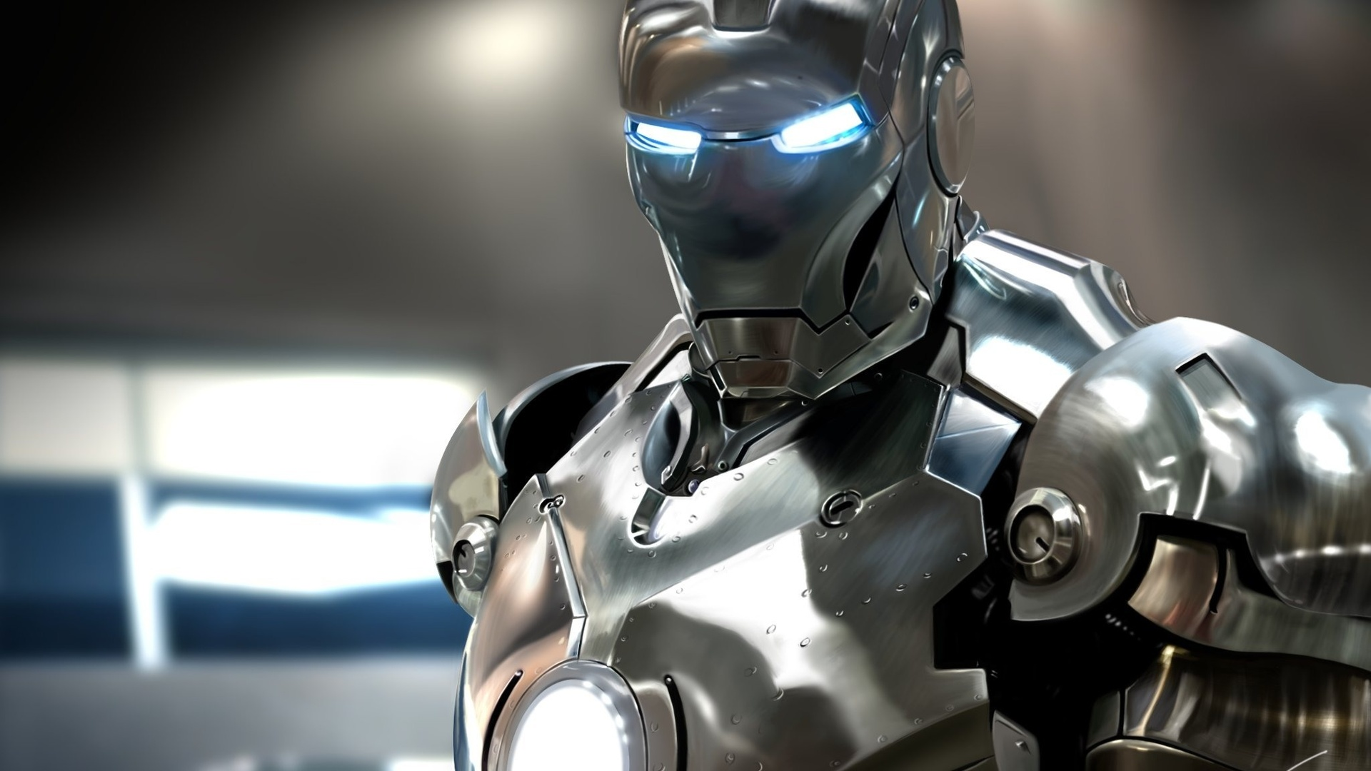 Robot photo wallpaper high definition high quality widescreen - Image de iron man ...