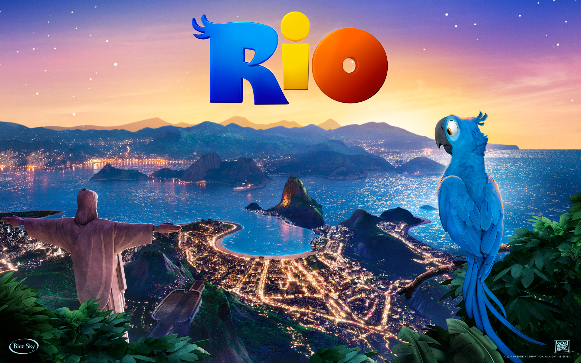 amazing rio movie - wallpaper, high definition, high quality, widescreen
