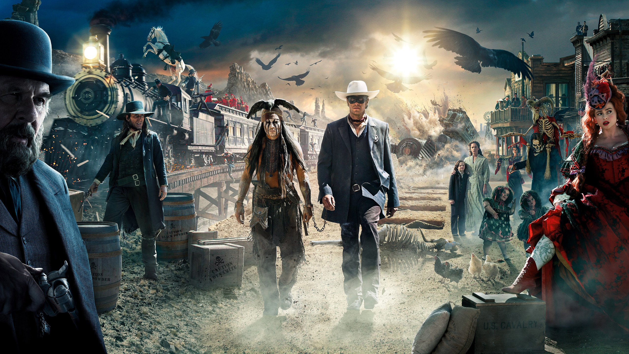 The Lone Ranger - Wallpaper, High Definition, High Quality, Widescreen