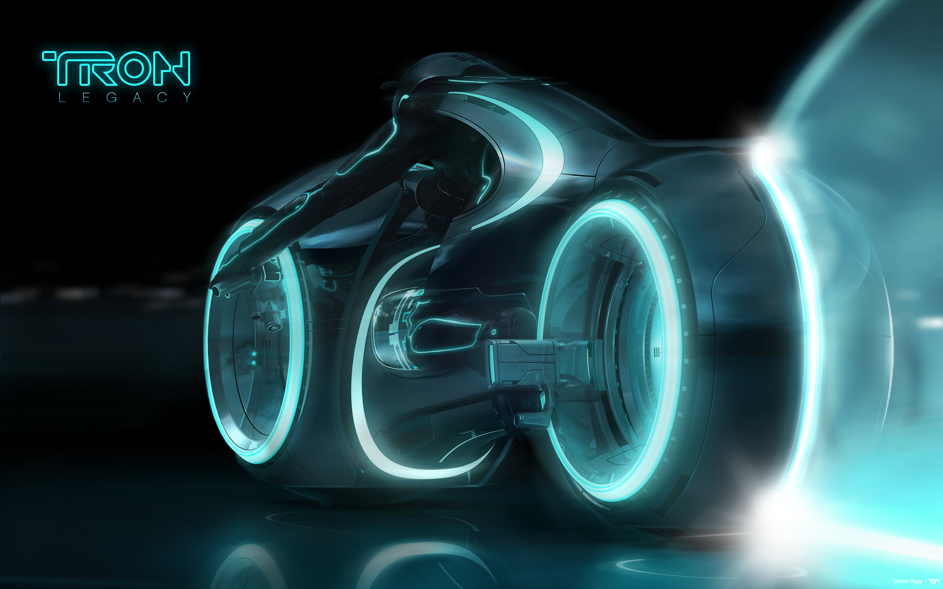 Wallpaper 3d Bike Tron Legacy Download: Wallpaper, High Definition, High