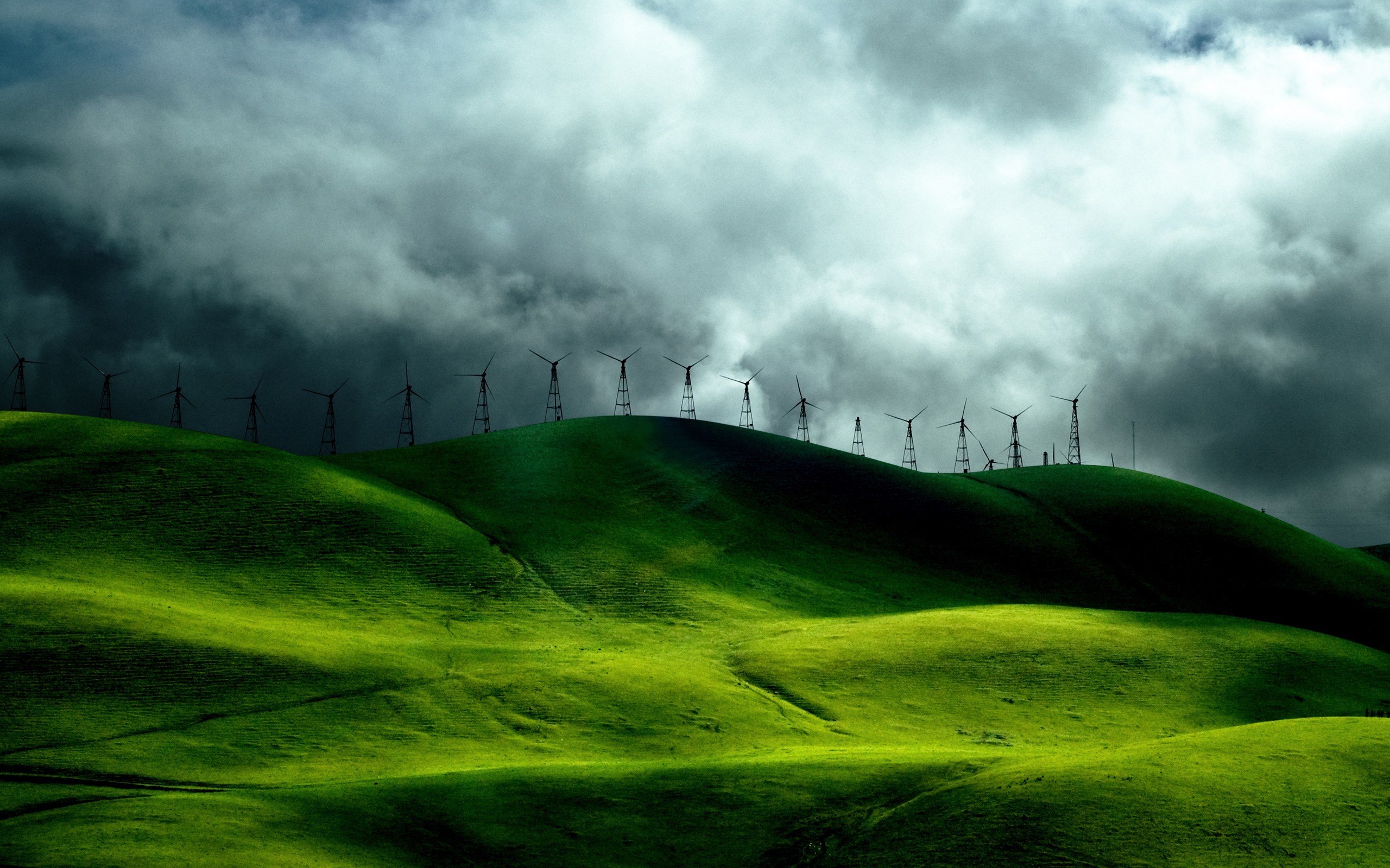 Wind Turbine  WallDevil  WallDevil  Awesome wallpapers