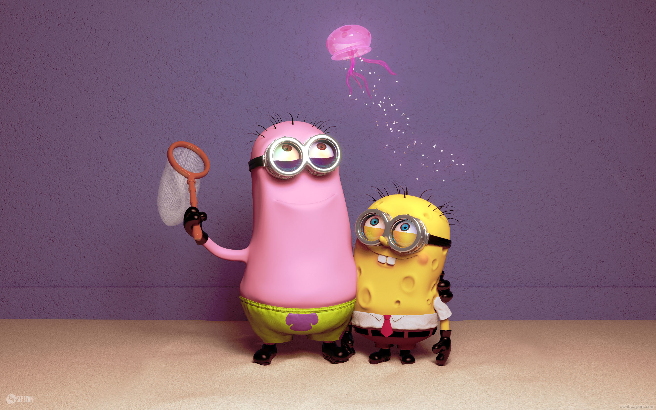 Funny Minions - Wallpaper, High - 676.5KB